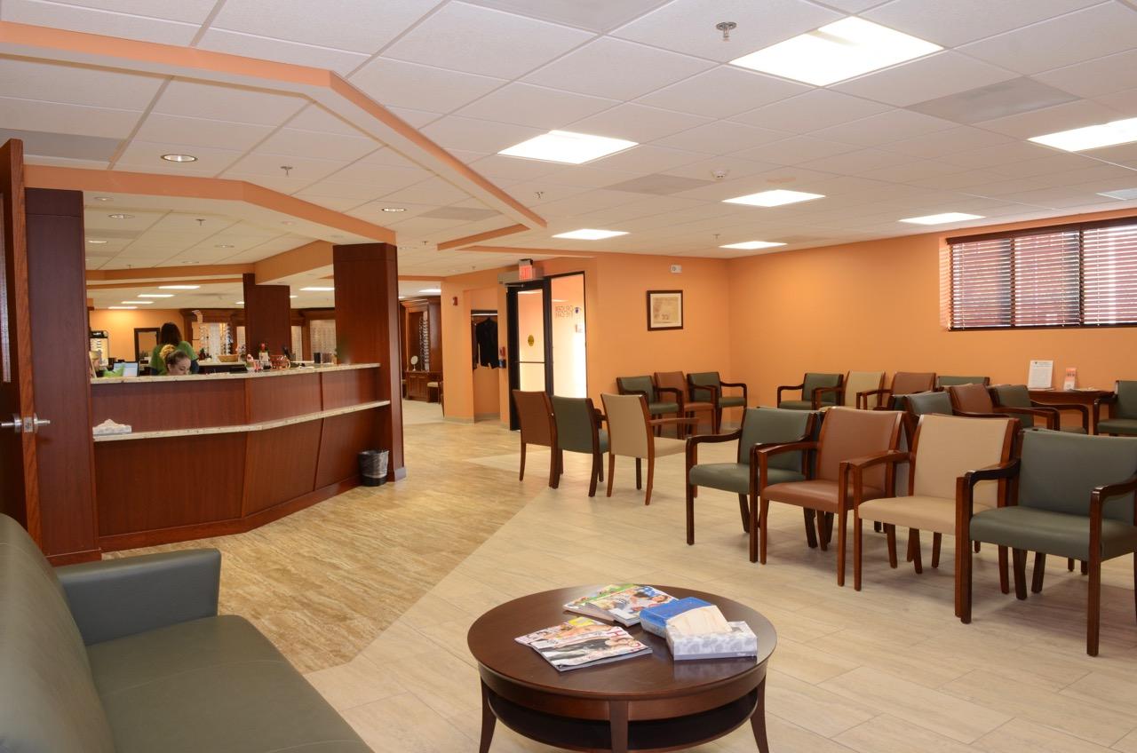 Druger Eye Care Waiting Room